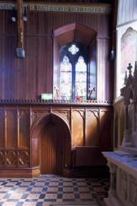 2879 DHB Architects Waterford Health Park-Interior restoration church timber