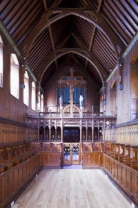2879 DHB Architects Waterford Health Park- Interior restoration church